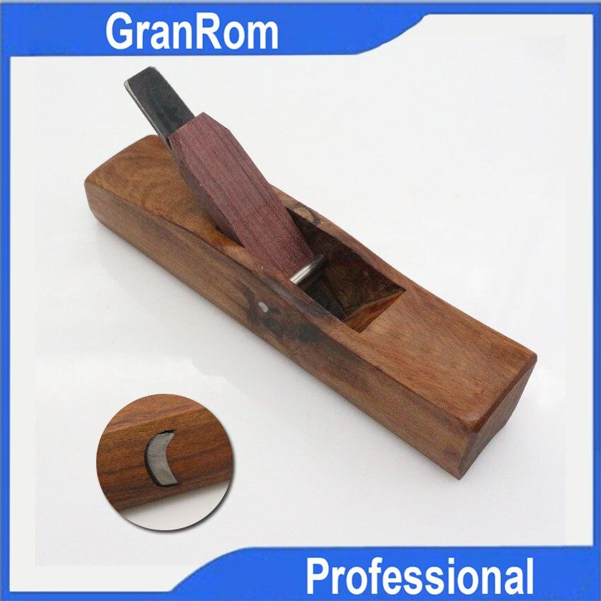 Cepillador de madera de palisandro, herramienta de planificación elevada manual, cepillador cilíndrico de 19mm, herramienta de carpintería DIY