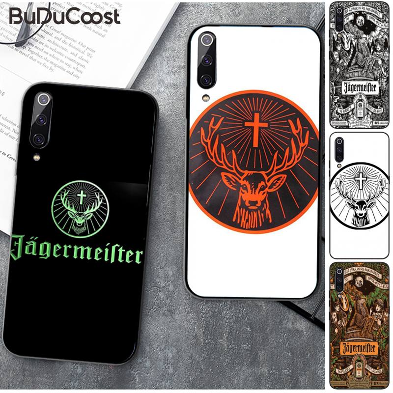 Jagermeister Logo Phone Case For Xiaomi Mi9 9SE 8SE Pocophone F1 Mi8 Lite