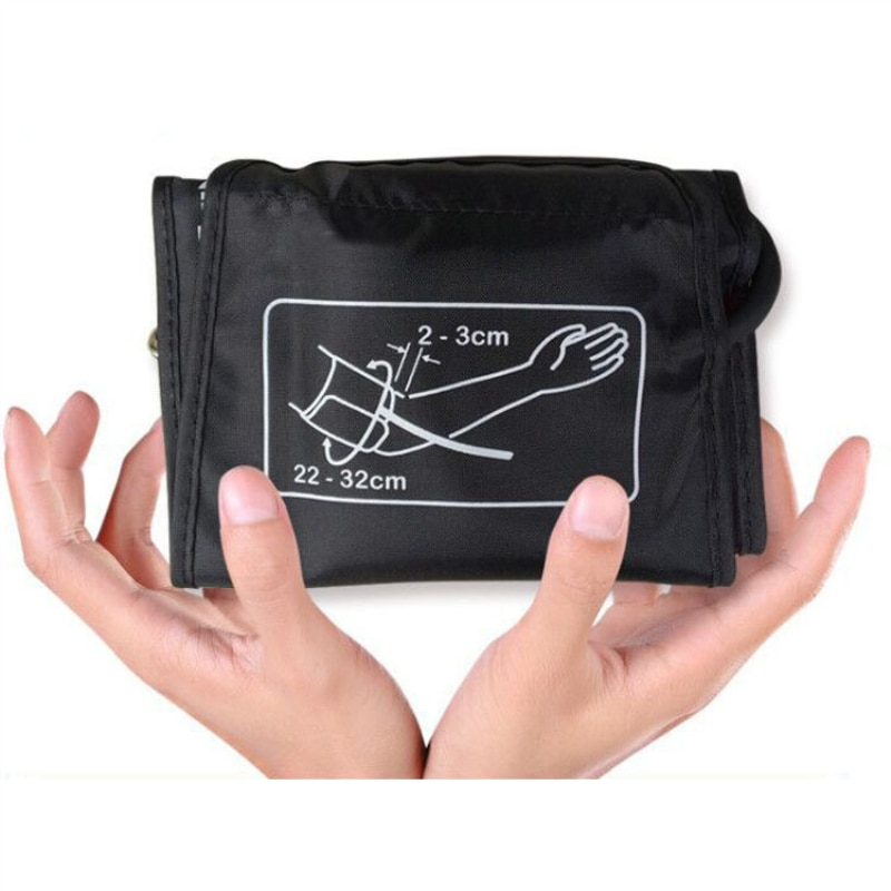 Adult Arm Blood Pressure Cuff Belt 22-32cm/22-42cm Tonometer Sphygmomanometer Upper Cuff  For Arm Blood Pressure Monitor Meter недорого