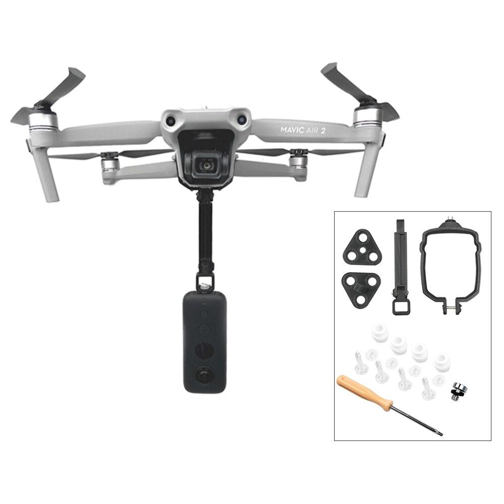 Soporte de montaje panorámico para cámara mavic air2 de 360 grados con bola absorbente de choque adecuado para accesorios de Dron Mavic Air 2