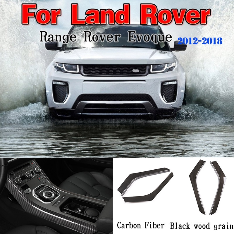 ABS Car Styling Center Console Decoration Strips Trim for Land Rover Range Rover Evoque 2012-18 Car Interior Accessories 2 Style