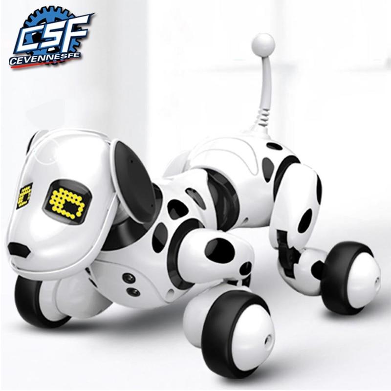 2021 New Remote Control Smart Robot Dog Programable 2.4G Wireless Kids Toy Intelligent Talking Robot Dog Electronic Pet kid Gift
