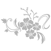 1 مجموعة ثلاثية الأبعاد مرآة زهرة ملصقات الحائط الفن للإزالة الاكريليك الزهور ملصقات الفن جدارية غرفة المعيشة ديكور المنزل لغرفة الأطفال