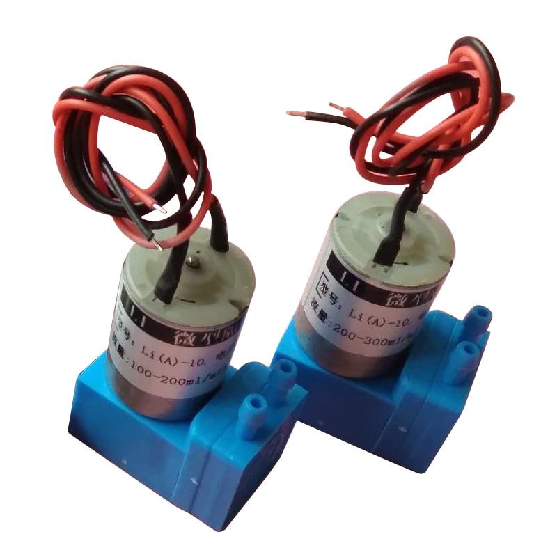 Bomba líquida pequena do diafragma da bomba 24vdc 3 w 4.5 w 200-300 ml/min micro para impressoras solventes de eco do grande formato