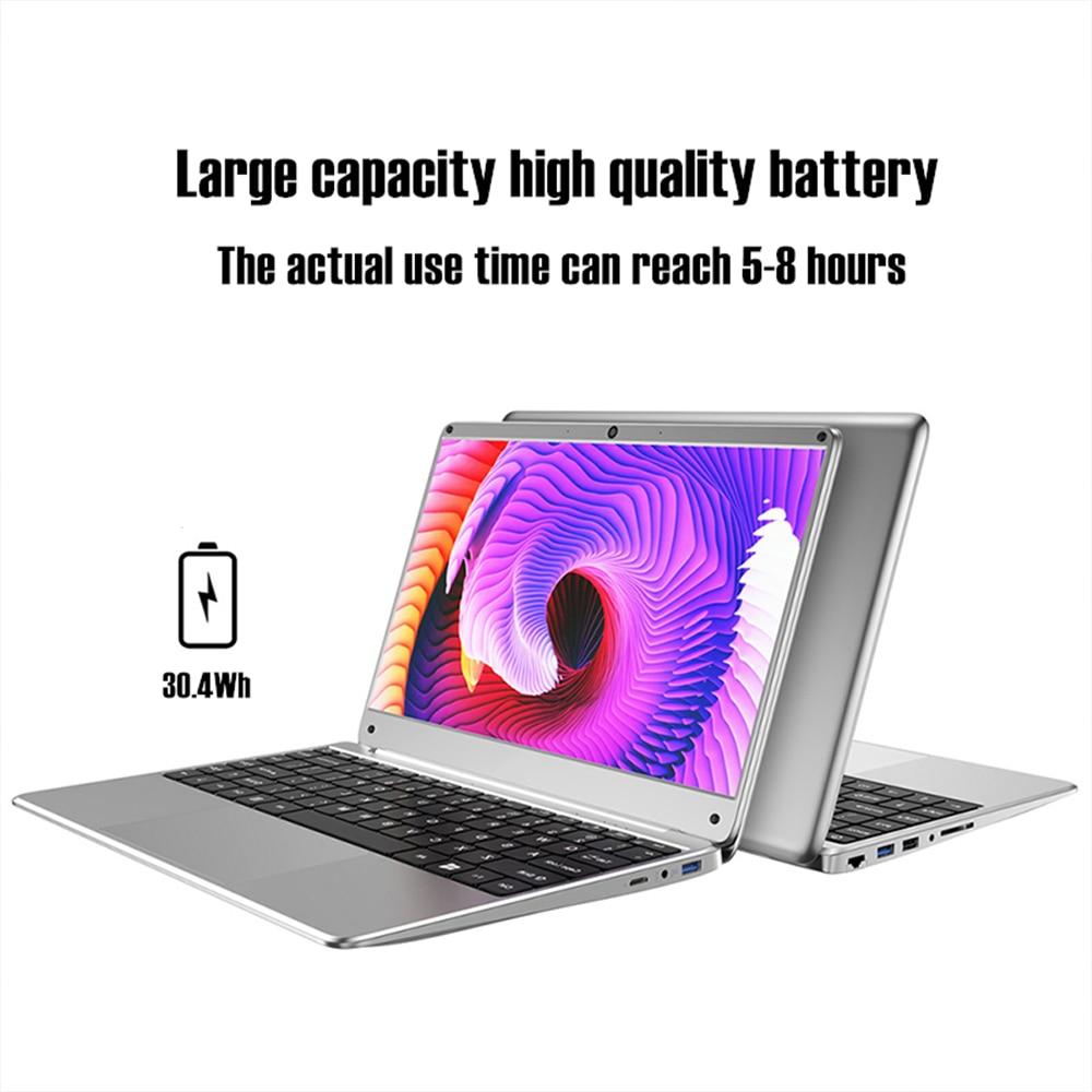 KUU KBOOK PRO 14.1 inch Intel N3450 Quad Core 6GB DDR4 RAM 256GB SSD Notebook IPS Laptop With additional Sata 2.5 port