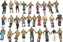 Wwe 3 pièces/lot différents personnages occupation lutte gladiateurs lutteur figurine jouet envoi aléatoire