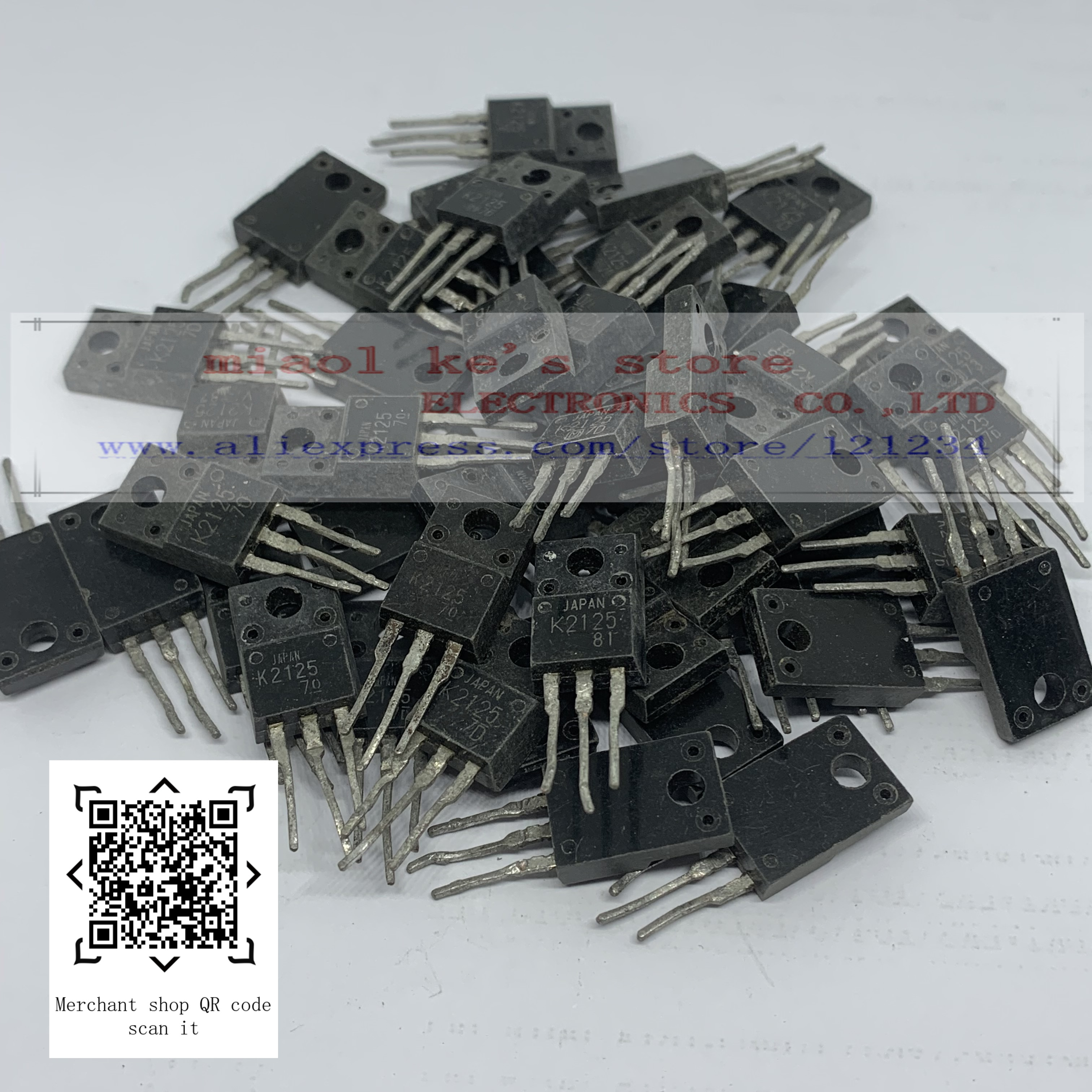 [10 sztuk] towary używane; 2SK2101 2SK2125 2SK2127 2SK2128 2SK2129 2SK2130 2SK2133 2SK2138 2SK2139 2SK2142