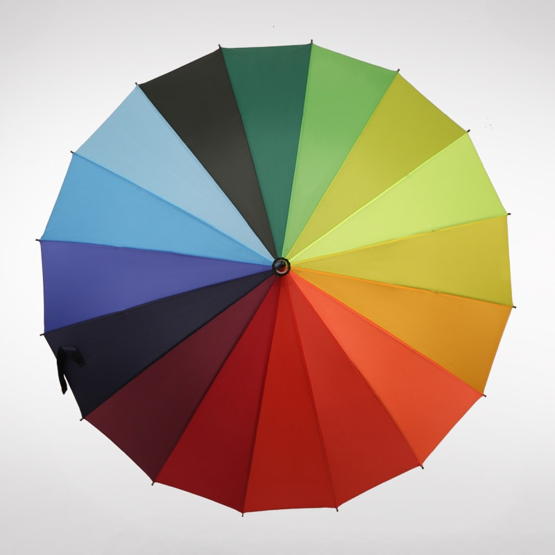 Guarda-chuva personalizado logotipo ultra grande vento-resistente 24 osso negócio cor sólida longo guarda-chuva golfe presente guarda-chuva adve 50ys206