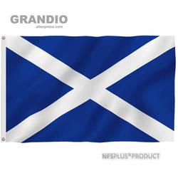 Escócia bandeira reino unido 90x150cm poliéster impresso bandeiras britânicas e banners para decoração celebração desfile esporte