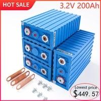 grade a 3 2v 200ah calb lifepo4 rechargeable battery pack brand new 24v 48v 200ah lithium iron phosphate packs solar battery
