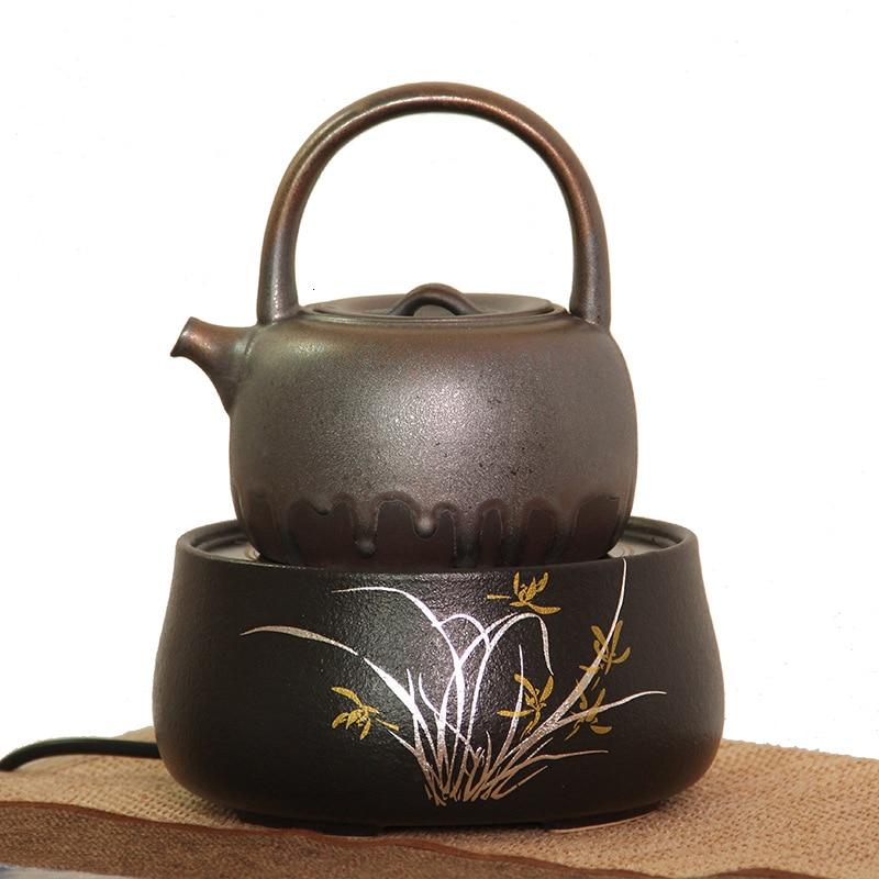 فرن المنزلية الكهربائية فرن المعالجة الحرارية كتم وعاء حديدي وعاء الفخار وعاء النحاس يغلي فرن الماء طقم شاي
