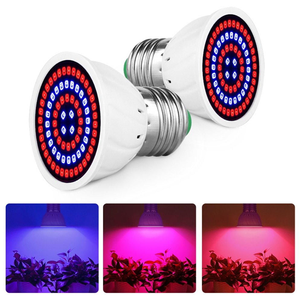 Phyto Led GU10 220V LED Plant Light E14 Grow Bulb E27 Fitolampy MR16 Lamp Full Spectrum Indoor Hydroponics Tent