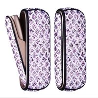 3 colors bling bag holder side case for iqos 3 0 leather pouch case accessories for iqos 3 cover