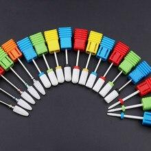 Fraise à ongles en céramique fraise à ongles électrique pour manucure pédicure Accessoires dart des ongles outil enlever le vernis à ongles