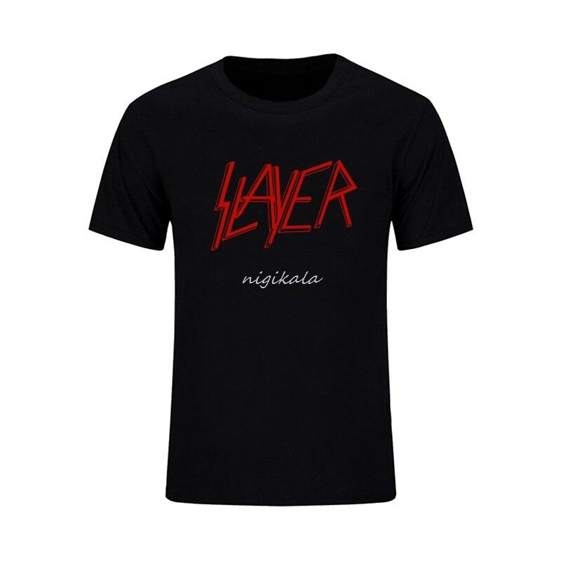 Rocksir the slayer t camisa velocidade banda de metal duro punk roupas thrash pesado fitness casual rock música verão streetwear camiseta