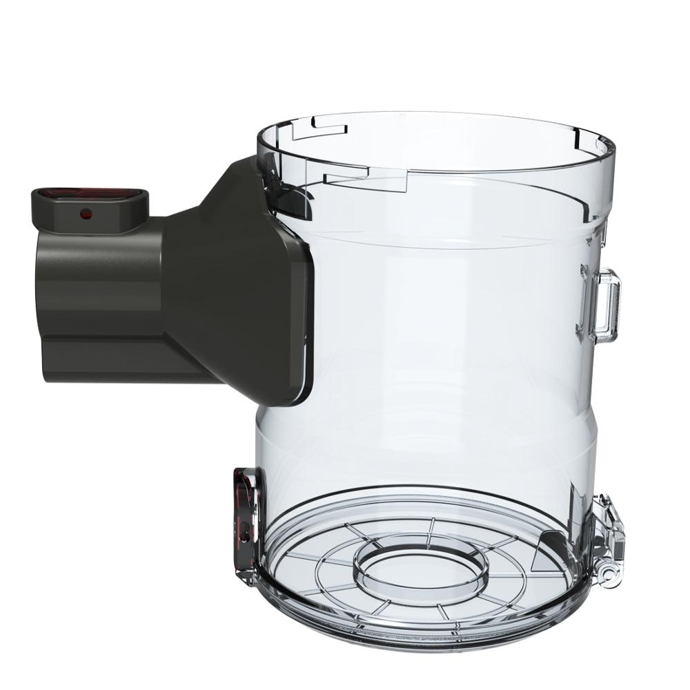 المهنية مجمع الغبار الشفاف ل Dibea D18 بروتابلي 2 في 1 مكنسة كهربائية لاسلكية استبدال جزء