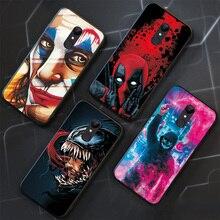 For Samsung J3 J5 J7 2017 Case J5 J7 2016 Joker Venom Silicone Black TPU Phone Bumper For Samsung J4 J6 Plus 2018 Case Cover