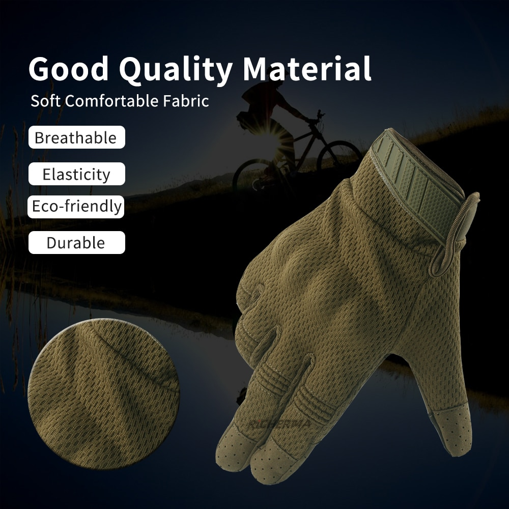 Touch Screen Motorcycle Gloves Men Full Finger Motorbike Gloves Tactical Military Moto Biker Racing Riding Cycling enlarge