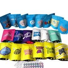100 pièces biscuits sac californie Mylar refermable 3.5g emballage Stand Up pochettes personnalisé votre conception
