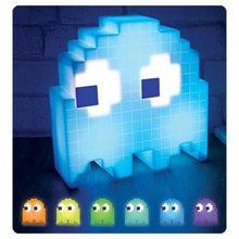 Pac-Man Pixel Night Light Lamp TOYS  Icon  Visual Illusion LED 3D Light Atmosphere Nightlight Action Figure