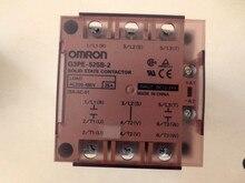 Véritable relais à semi-conducteurs Omron G3PE-525B-3N triphasé 535B 545B DC12-24
