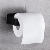 Sans Percage Auto-Adhesif Porte-Papier Hygienique En Acier Inoxydable Salle De Bain Cuisine Rouleau Papier Accessoire Tissu Serviette Rack Supports En Metal