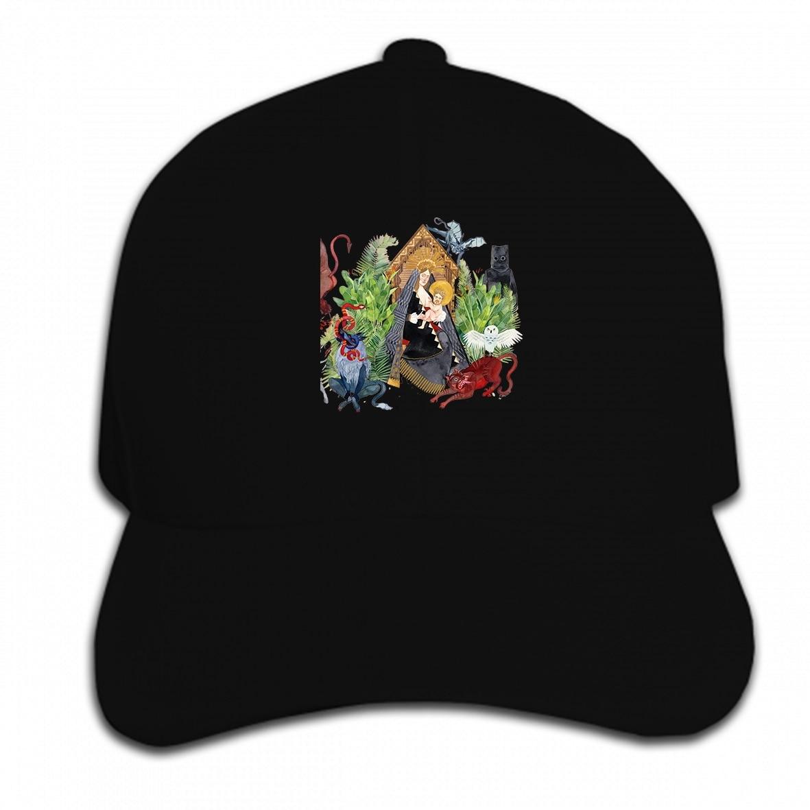 Drukuj czapka z daszkiem na zlecenie SF męski ojciec John Misty FJM strach zabawa kapelusz czapka z daszkiem