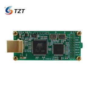Image 3 - TZT для любовного интерфейса + ES9038Q2M аудио декодер плата аудио HiFi USB Звуковая карта Поддержка DSD256 PCM 384Khz