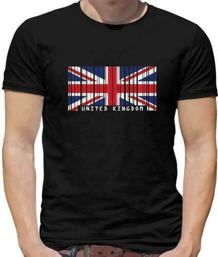 United Kingdom Flag Mens T-Shirt - UK Country Travel -Great Britain 2020 Summer
