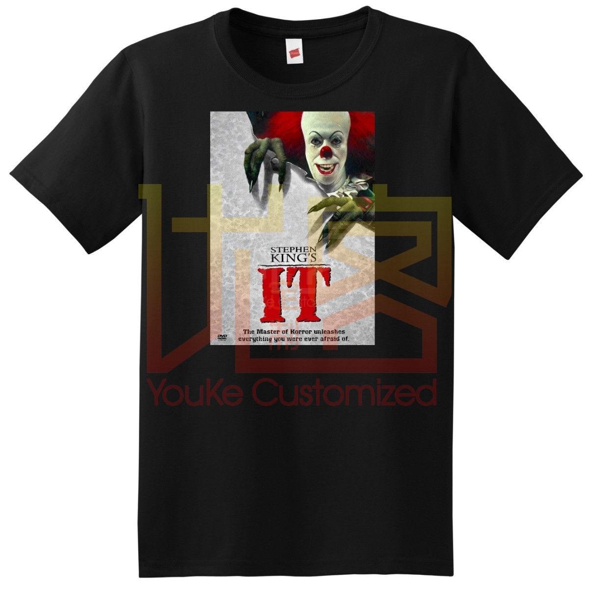 Pennywise de It camiseta 1990 película stephen king pequeña mediana grande