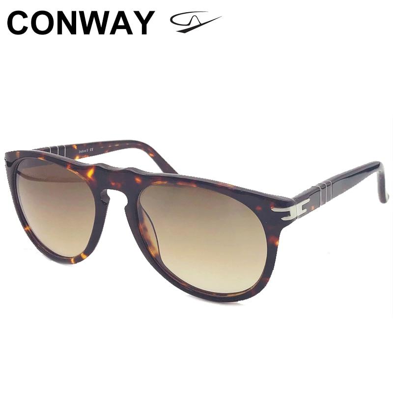كونواي كبيرة مستديرة النظارات الشمسية للنساء الرجال UV حماية نظارات للقيادة نظارات شمسية المتضخم دائرة كبيرة عدسة CN0001