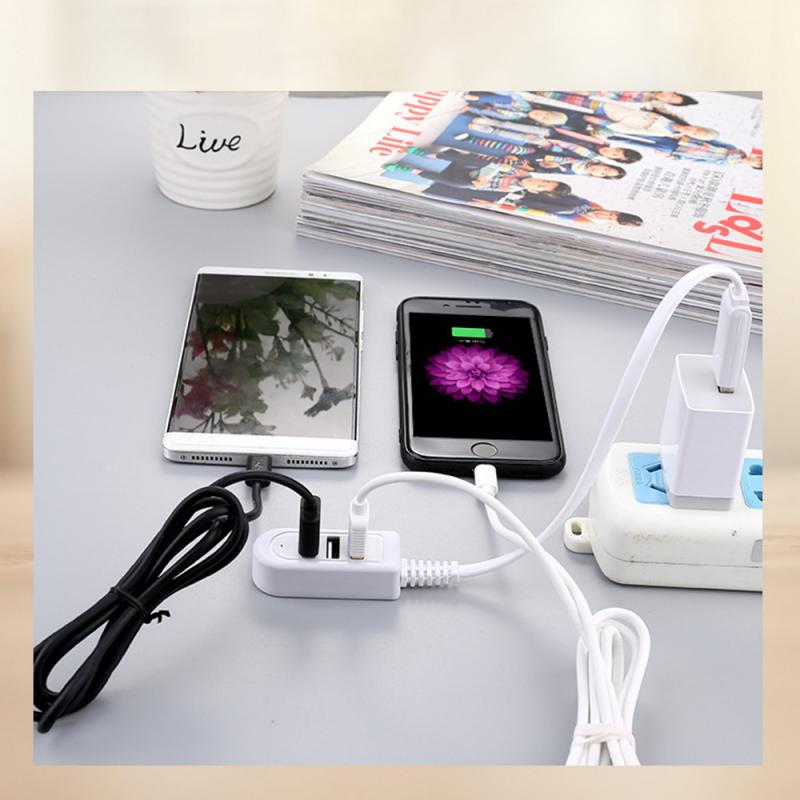 Hi-Speed Hub Adapter USB Hub Mini USB 2.0 3-Port Splitter For PC Laptop Notebook Receiver Computer P