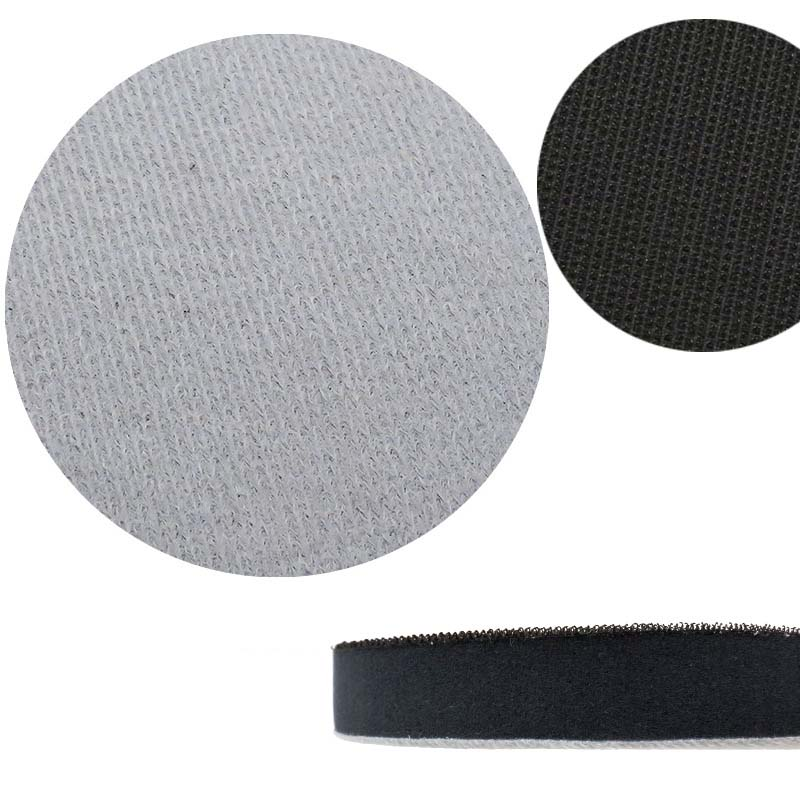5 Inch/125mm Sponge Soft Interface Pad With Hook And Loop 20mm Thick 1 Pack