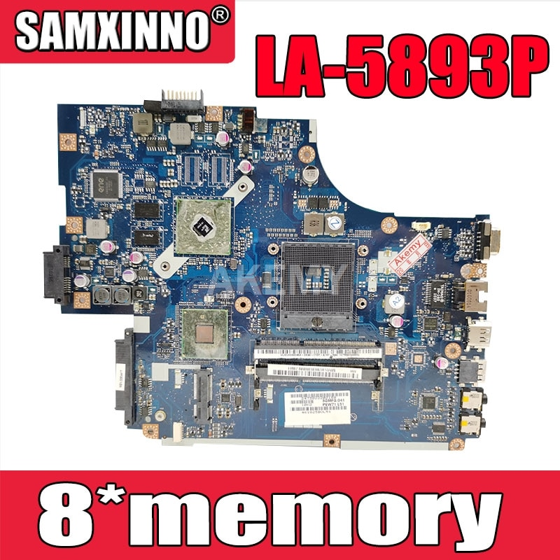 LA-5893P материнская плата для ноутбука Acer 5740 5741 5742 5741G 5742GLA-5891P LA-5894P LA-5893P материнская плата 8 * видеопамяти