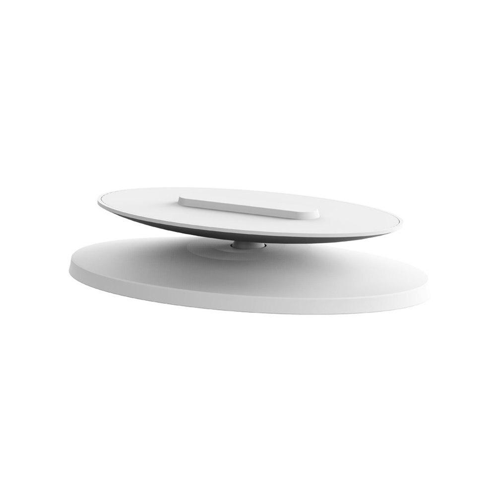 Soporte de aluminio antideslizante para altavoz, Base giratoria de 360 grados para...