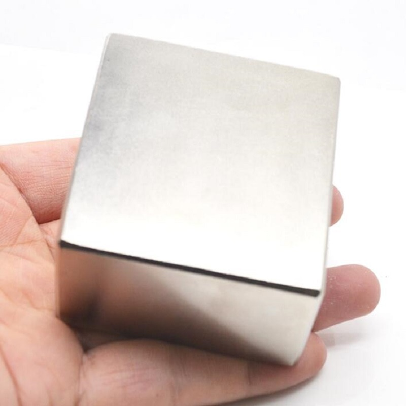 1PCS neodymium magnet N52 Block 50x50x25 Super Strong Rare Earth magnets Neodymium Magnet 50*50*25 Neodymium magnet IMANES