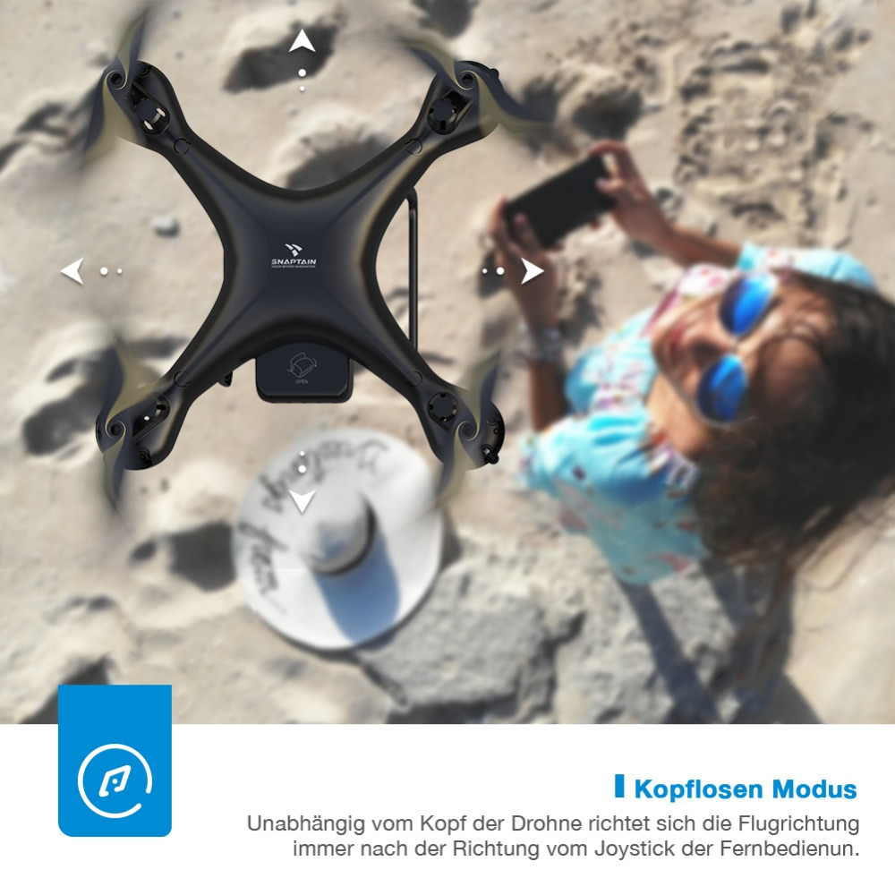 SNAPTAIN SPF50MQ 1080P/2K Drone with Camera HD Live Video Camera Drone Voice Gesture Control  Christmas Gift for Beginners Kids enlarge