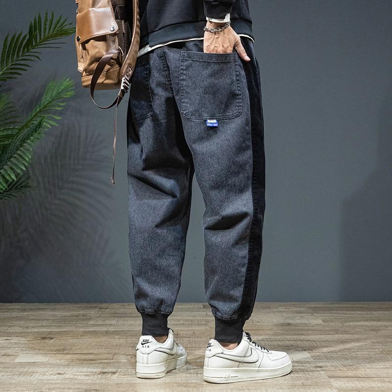 Мужская одежда больших размеров, Осень-зима 2021, японские модные брендовые свободные брюки, повседневные спортивные брюки Harlan, мужские брюки