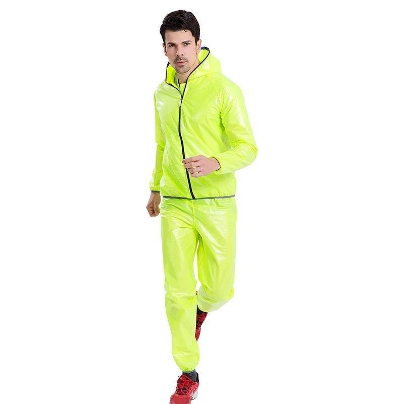 Bicycle Hiking Foldable Raincoat Jacket Men Outdoor Large Raincoat Running Rain Poncho Bike Adult Antipioggia Moto Rain Gear enlarge