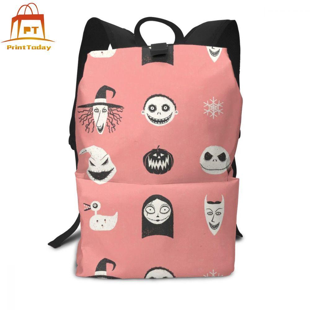 Nightmare Before Christmas Backpack Nightmare Before Christmas Backpacks High quality Men - Women Bag Bags