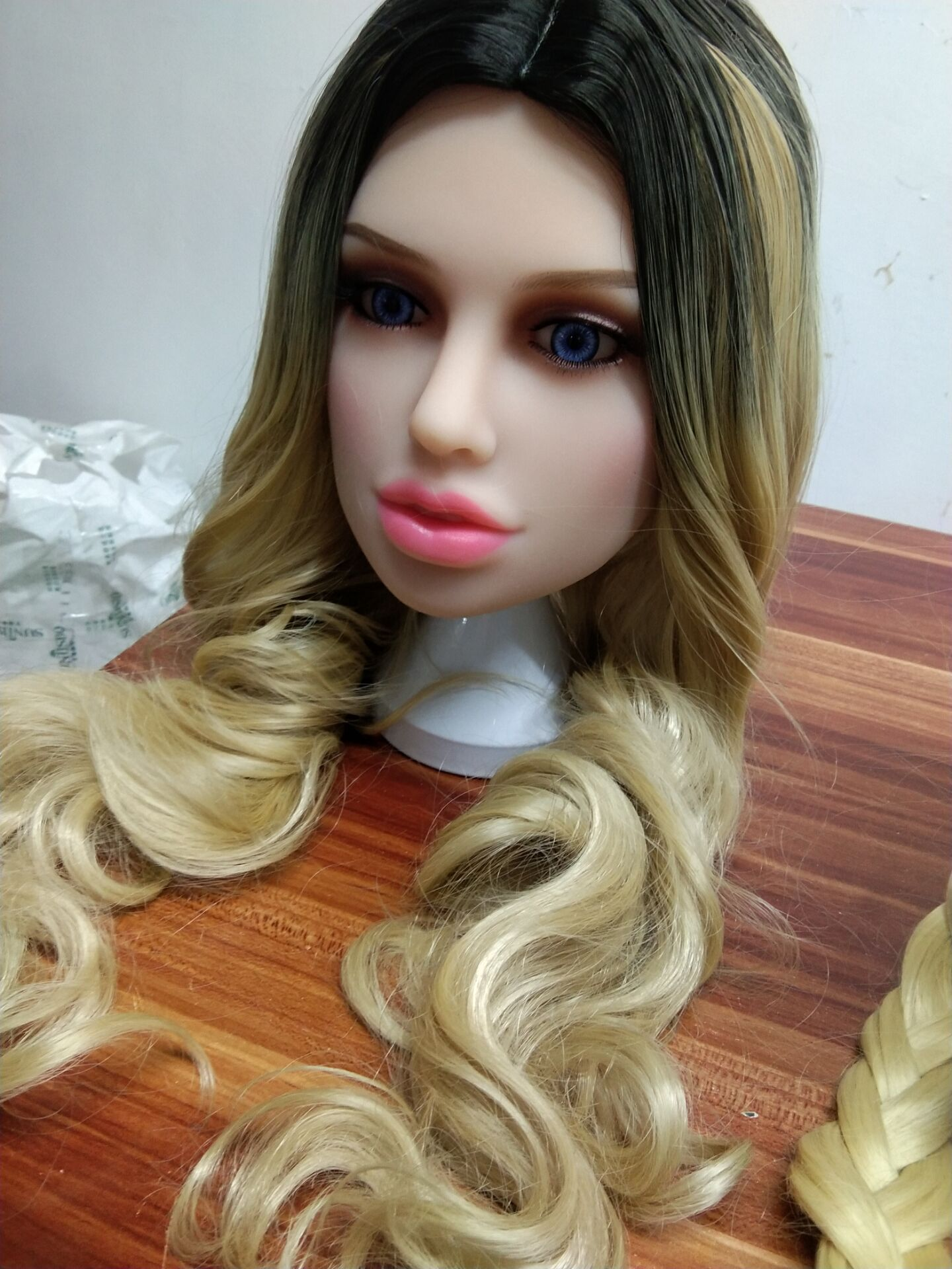 Muñeca sexual con altura de cabeza para muñeca de amor de silicona Real, cabezas de muñeca con Oral, nuevos juguetes sexuales para hombres, cabezas de muñeca reales