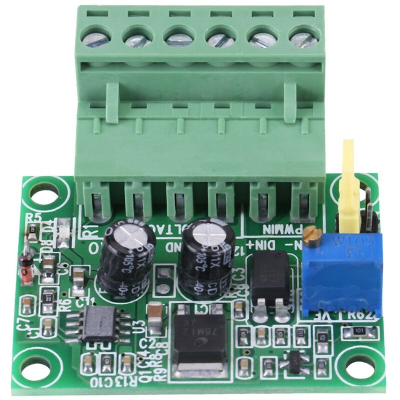 0-5V/ 0-10V to 0-100% Analog Input Voltage to PWM Signal Converter Module PLC AD