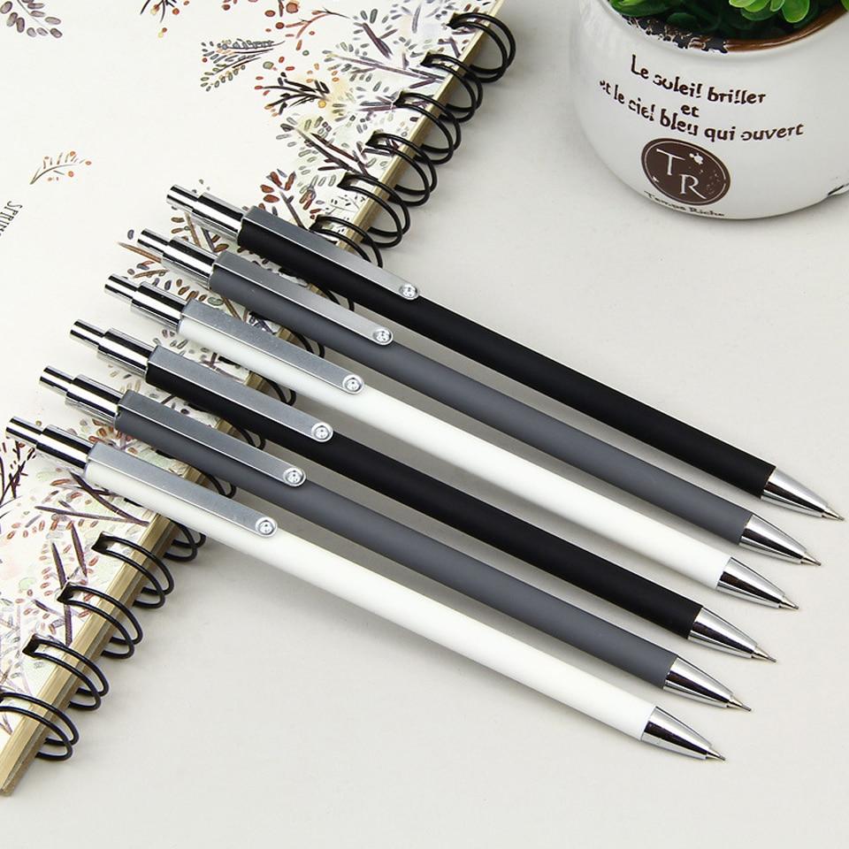Lápiz mecánico 2B 0,5mm de alta calidad Metal superfino Penholder pintura escritura suministro de lápices escolares automático enviar 2 recarga