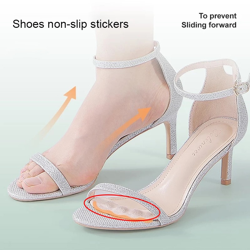 Gel Pads Insoles for Women's Sandals Slippers High Heels Shoes Inserts Filler Forefoot Pad Heel Line