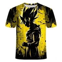 new anime boy girl clothing summer fashion t shirt 3d printing anime harajuku top t shirt mens o neck shirt plus size and kids