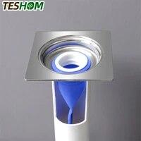 Joint detancheite anti-odeur en silicone  pour salle de bains  tuyau devacuation deau  cuisine  salle de bains