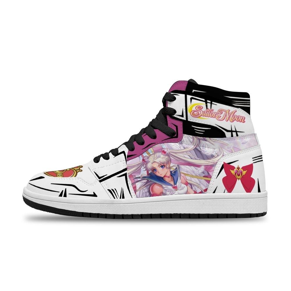 أنيمي الكرتون الساخن اليابانية بحار القمر Chiba لتقوم بها بنفسك مخصصة تشغيل عدم الانزلاق حذاء فاخر للمرأة للجنسين موضة الاتجاه الأحذية