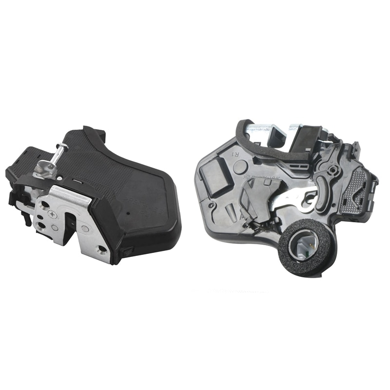 2 قطعة قفل الباب الجانبي المحرك مزلاج ، ل 02-09 لكزس ES/GX/RX و سكيون TC و تويوتا كامري كورولا ، الخلفي اليسار والخلفي الأيمن