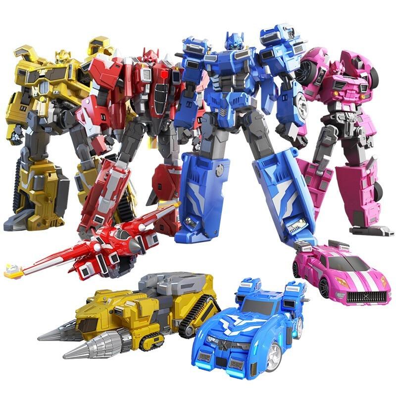 مجسمات روبوت تحويل القوة المصغرة ، MiniForce X ، محاكاة سيارة ، طائرة ، لعبة وكيل صغير ، 2020