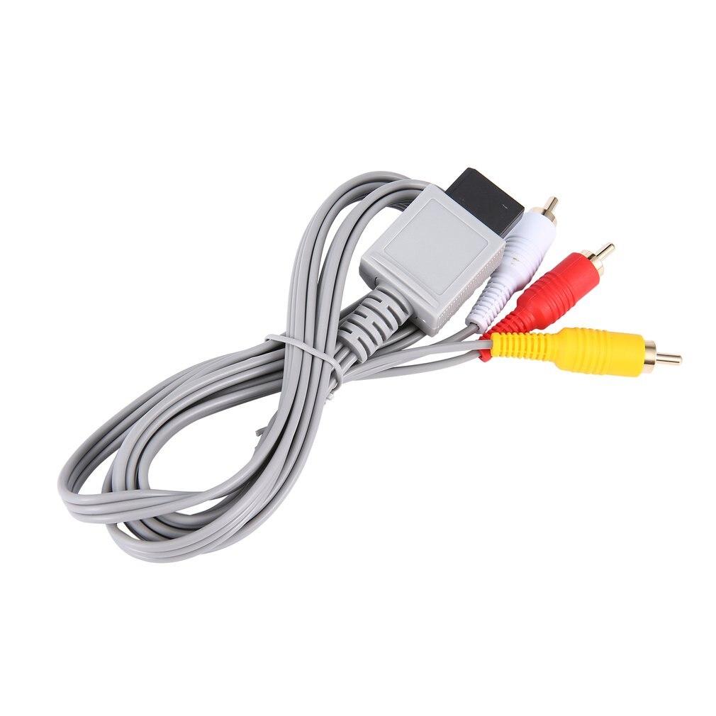 Cable de Audio y vídeo chapado en oro, 1,8 metros, compuesto AV,...